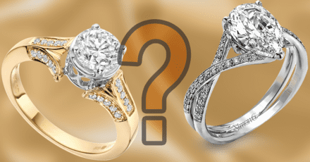 Can you guess which engagement ring costs more?
